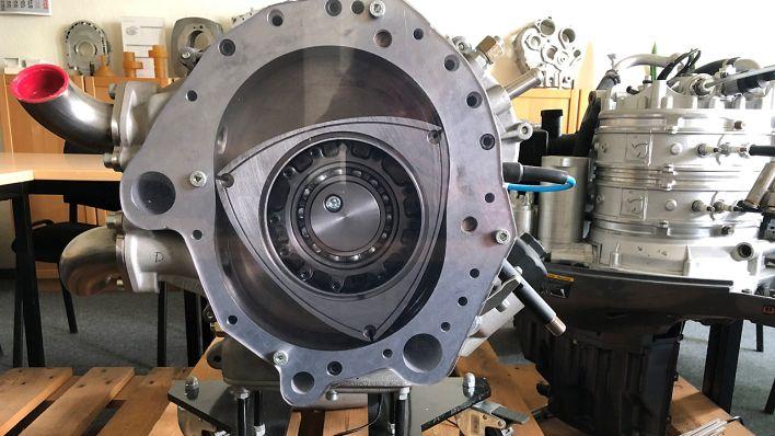 Testphase für Wankel-Motor mit Wasserstoff läuft in Cottbus