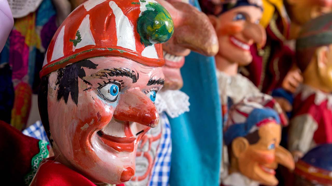 Kasper und weitere Puppen (Quelle: Andreas Franke)